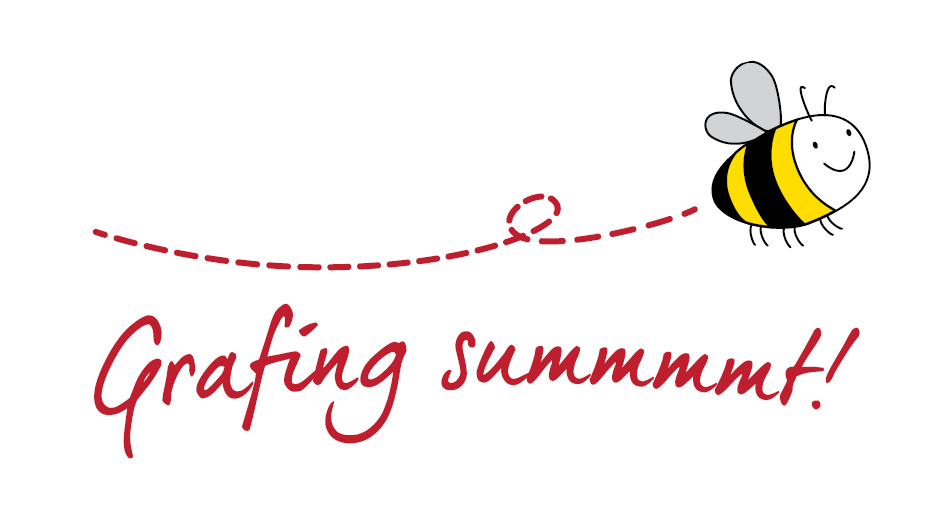 "Banner ""Grafing summt!"""